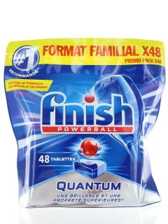 Finish Tablete pentru masina de spalat vase 48 buc Quantum powerball