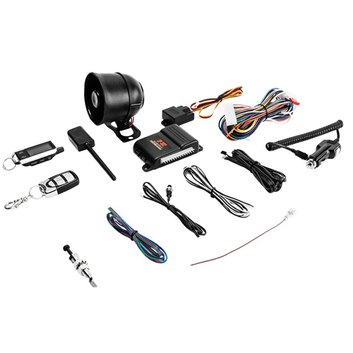 CrimeStopper Security and Keyless Entry System (2-Way LCD