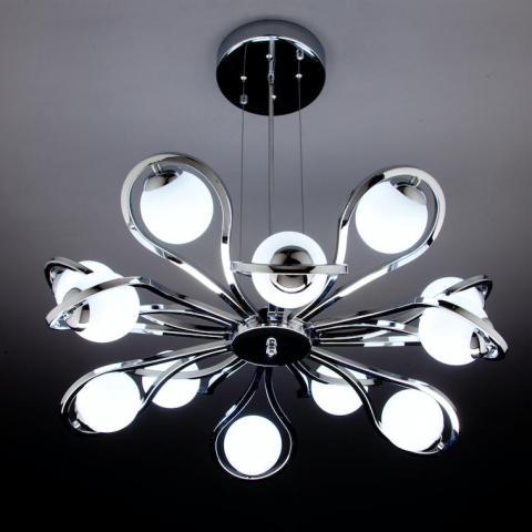 Lampadario 3 luci con pendenti. Lampadari Moderni A Led Di Design Per Il Tuo Soggiorno