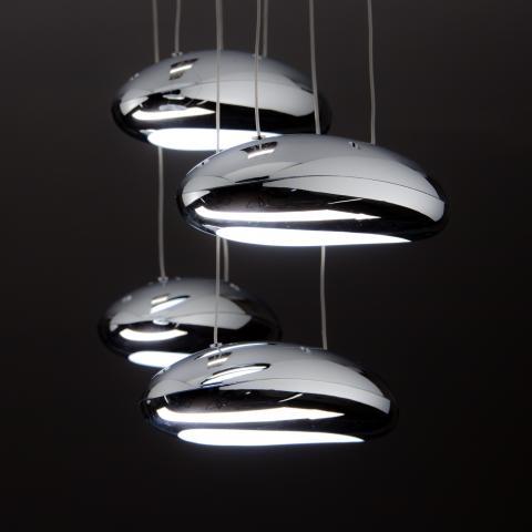 This stunning midcentury modern ikea kitchen we designed,. Lampadari Moderni A Led Di Design Per Il Tuo Soggiorno