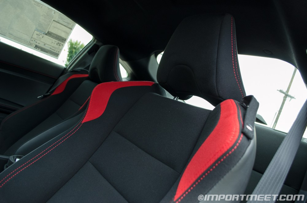 medium resolution of compared to an s2000 i felt that the seats in the fr s were