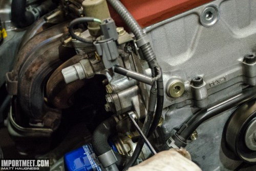 small resolution of s2000 timing chain tensioner install 3