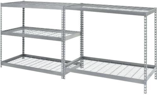 shelving welded steel 5 levels husky ro6 672 405