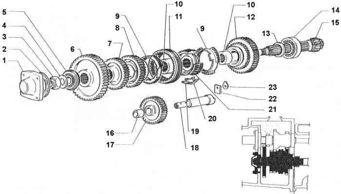 6 Speed Transmission Parts