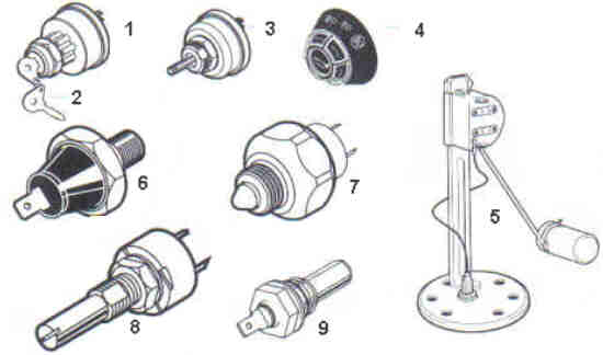 David Brown Electrical System Parts