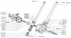 Oliver 1365 Diesel Tractor Parts. Oliver. Tractor Engine