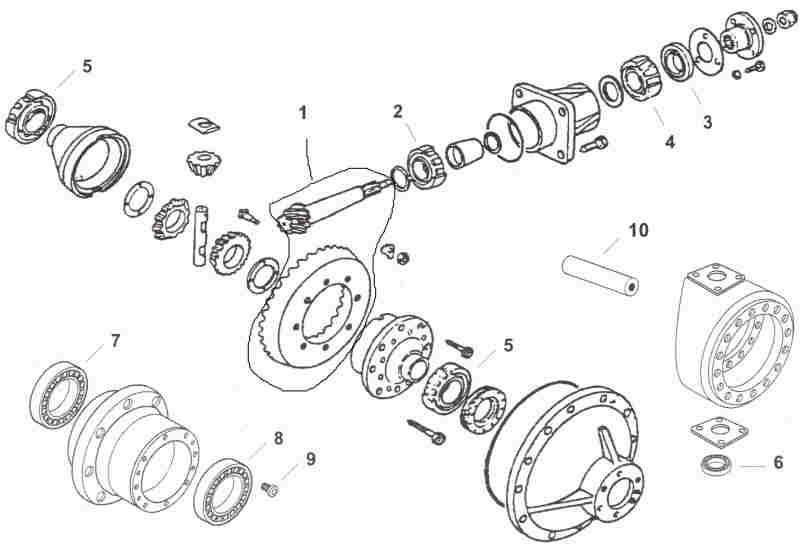 Fiat/Long/UTB Side Drive 4x4/FWA Parts!