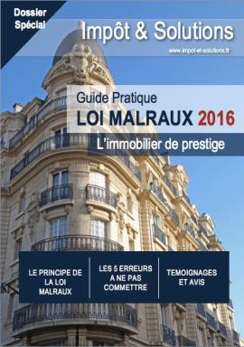 Guide pratique Loi Malraux 2016