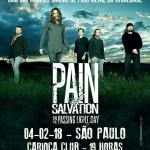 "Pain of Salvation desembarca no País na próxima semana – Tour ""In The Passing Light of Day"""