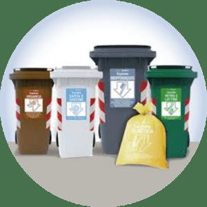 rotazione e svuotamento rifiuti condominiali