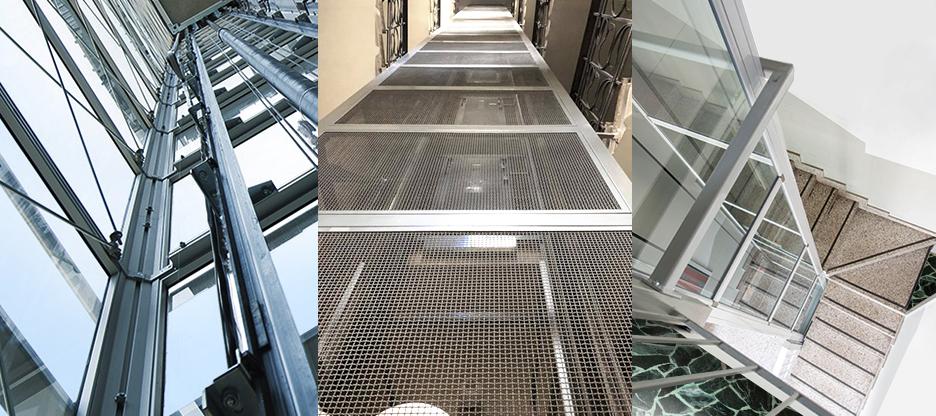 pulizia vano ascensore