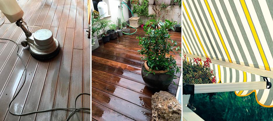 pulizie balconi tendaggi milano