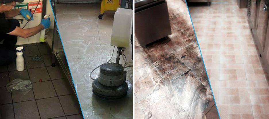pulire cucina professionale