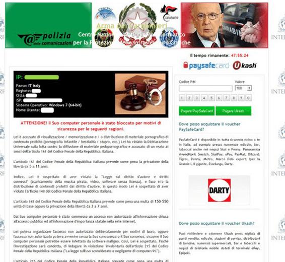 ransomware-carabinieri