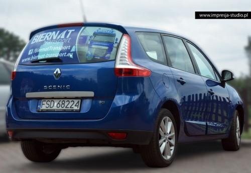 Oklejanie pojazdów - Biernat SCENIC