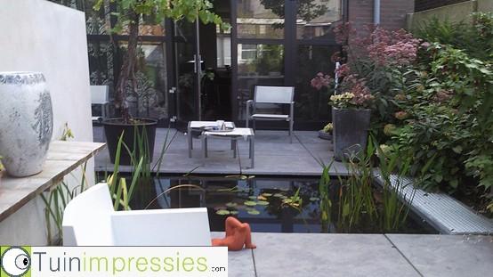 Moderne Strakke Tuinen Fotos Great Moderne Tuinen All In
