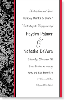Wedding Amp Bridal WEDDING INVITATIONS Seasonal Amp Holiday