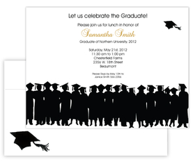 Invitations GRADUATION & SCHOOL Invitations Caps & Gowns