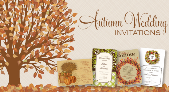 Fall Wedding Invitation Kits Printable Diy Stationery Templates Invitations