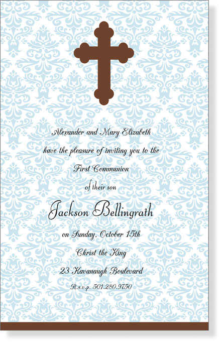 First Holy Communion Invitations Communion Invitation