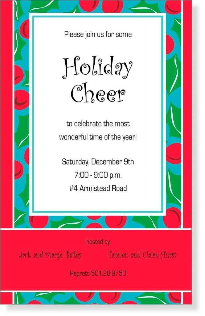 holiday company invitation wording : Cogimbo.us