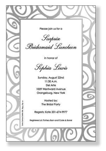 Invitation Wording Business Event