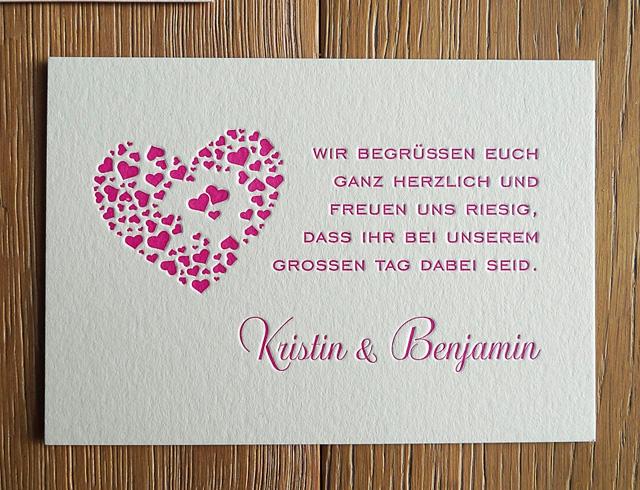 impressiona  feinster letterpress  Hochzeitskarten city love