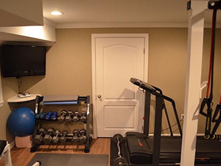 Basement Home Gym Ideas Boston, MA, South Shore, Cape Cod