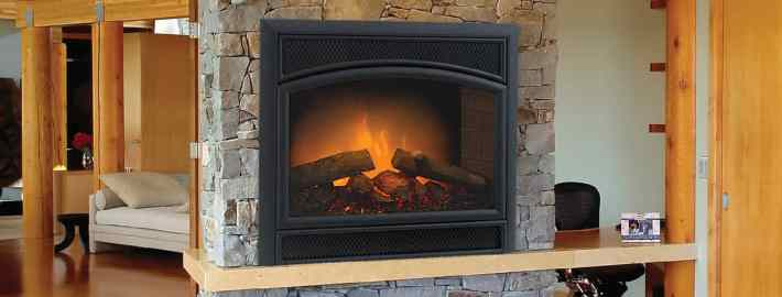 Allura Fire Electric Fireplace By Majestic Products
