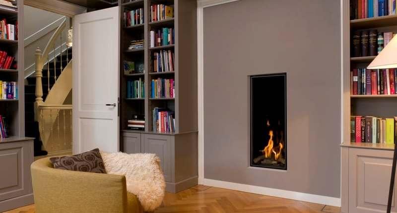 Vertical Bell Fireplace
