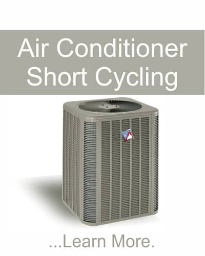 Air Conditioner Short Cycling