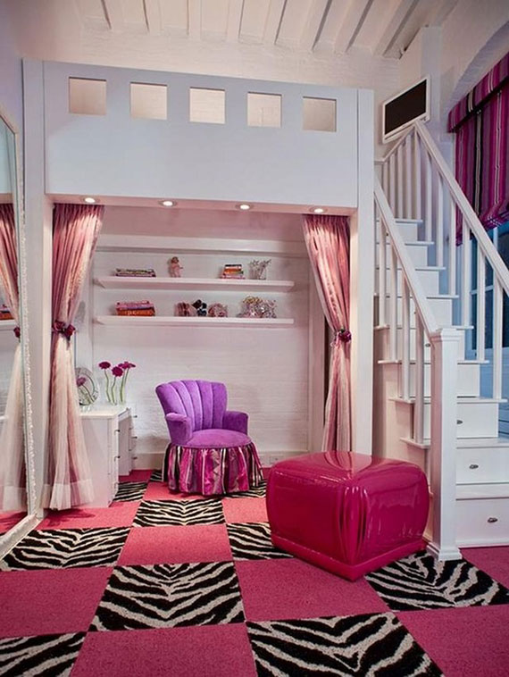 colorful girls rooms design