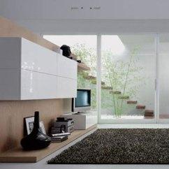 Modern Living Room Setup Gray Leather Chair House Home Design Blog