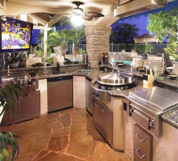 summer kitchen ideas utility carts for design 50 pictures o17