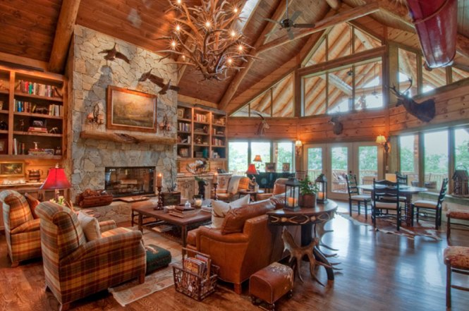 Hunting Lodge Design Ideas Smooth Decorator