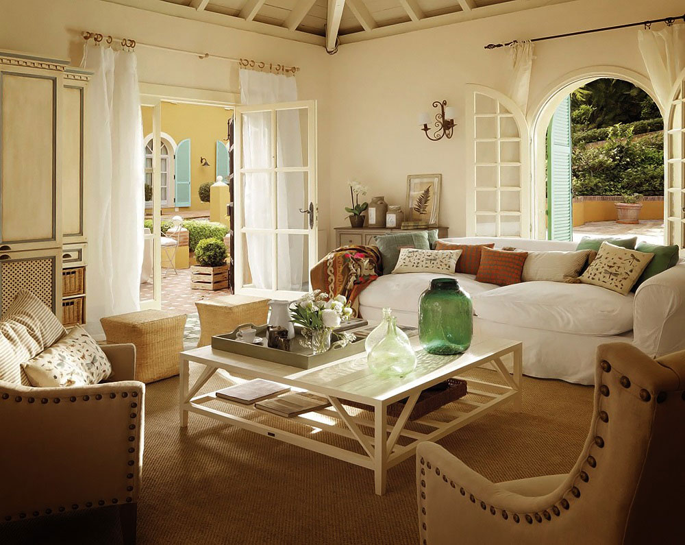 Interior And Exterior Country House Pictures 33 Examples