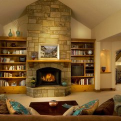Small Living Room Ideas Fireplace Decorating For With Brick 45 Modern And Traditional Designs Design 3