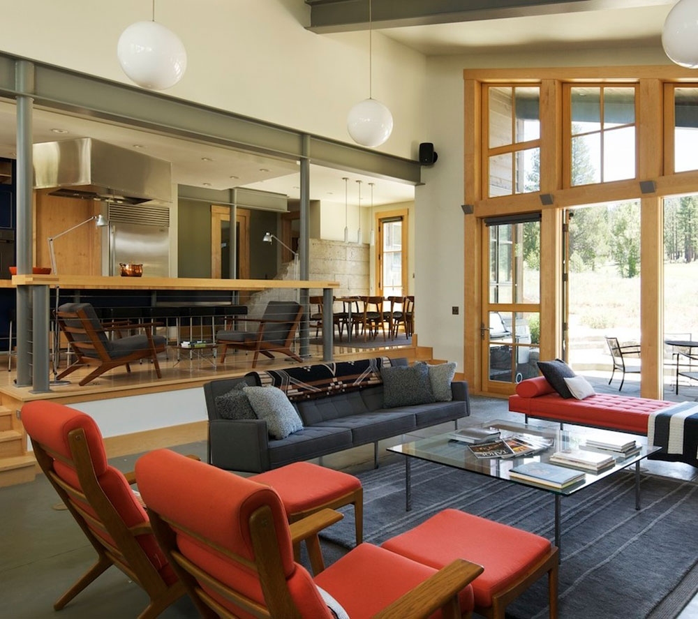 Best Sunken Living Room Designs 41 Conversation Pits | Living Room Railing Design | Balcony | Stair Case | Flooring | Step Down | Wrought Iron