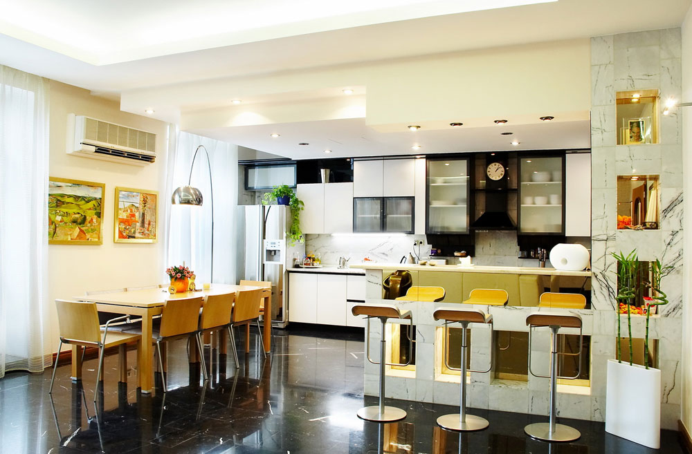 Simple Kitchen And Dining Room Design Emiliesbeauty Com