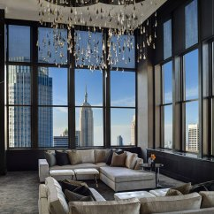 Modern Look Living Room Elle Decor Small Rooms New York Interior Design Examples With Sleek Looks