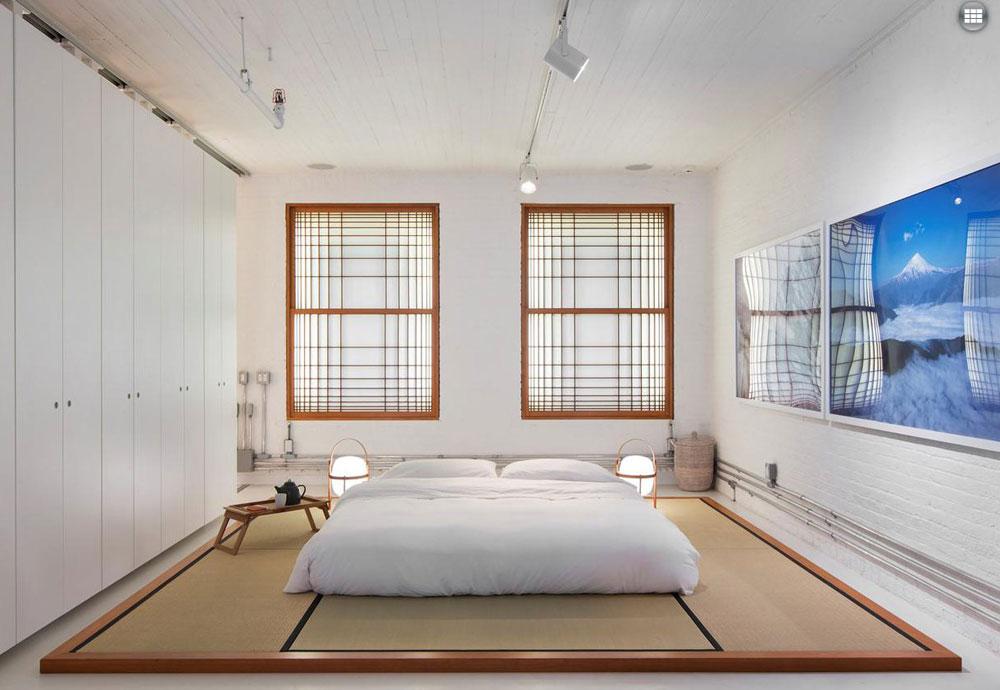 decorating a zen bedroom - inspirational images