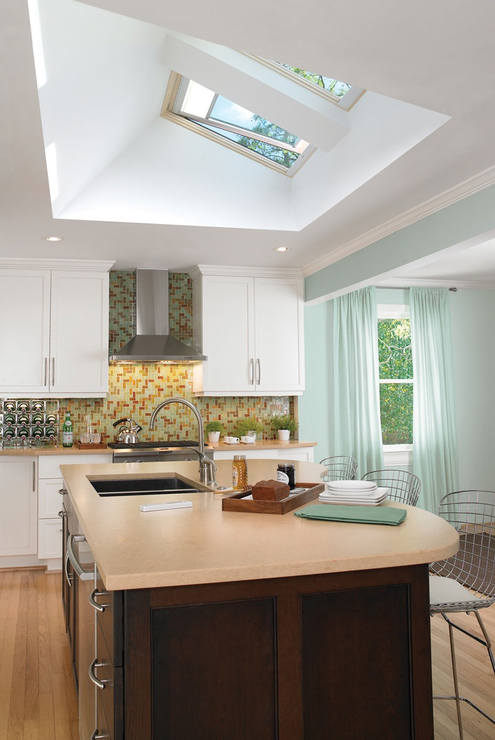 kitchen skylights mobile food for sale kitchens with more natural light 11