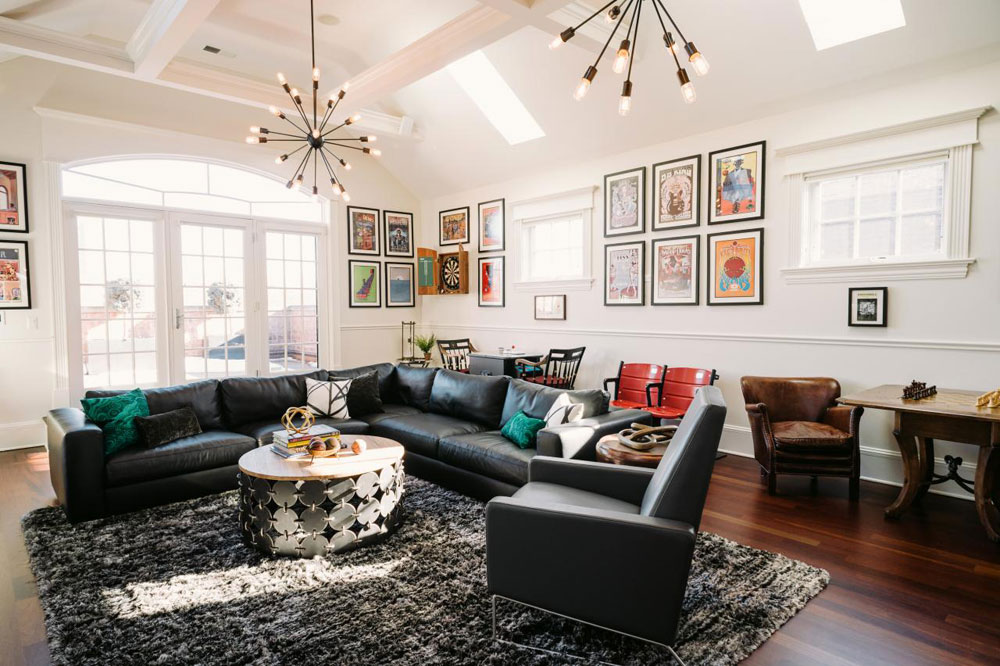 Vaulted Ceiling Living Room Design Ideas Part 84