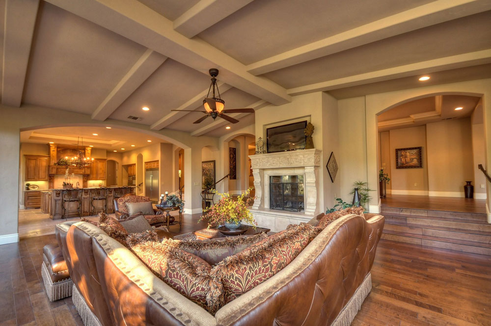 Vaulted Ceiling Living Room Design Ideas Part 73