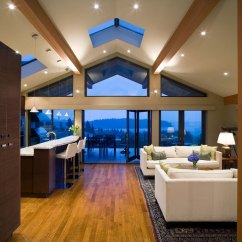 Living Room Lighting Ideas Cathedral Ceiling Redecorating Vaulted Design 5