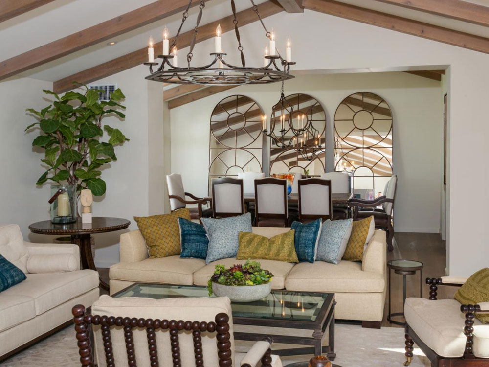 Vaulted Ceiling Living Room Design Ideas Part 94