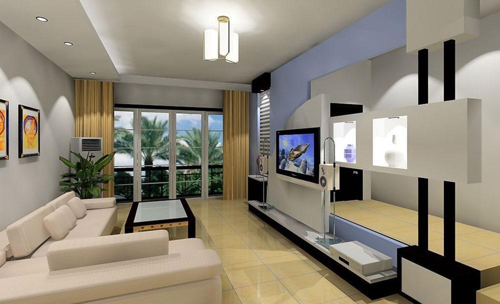 Interior Design For Rectangular Living Room