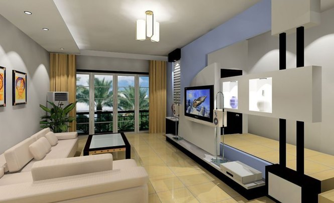 How To Decorate A Rectangular Living Room