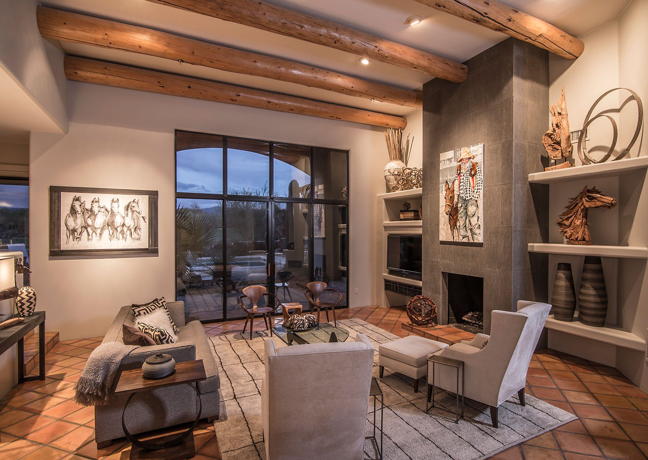 Best Kitchen Gallery: Southwestern Interior Design Style And Decorating Ideas of Home Interior Design Styles  on rachelxblog.com