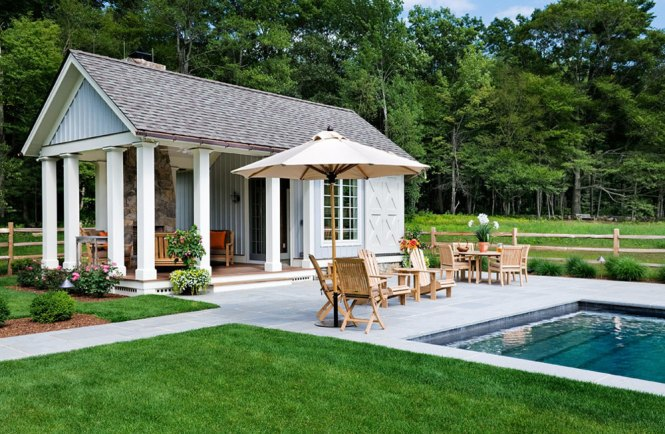pool house designs image of around